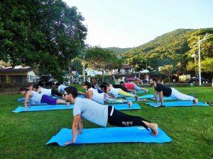 Sander Maurano Yoga Floripa Florianópois aulas