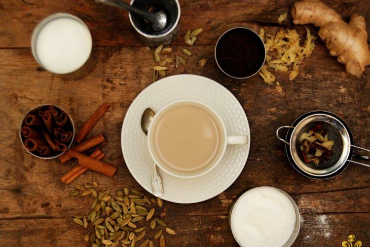 Yoga Floripa chá indiano chai indian tea DeRose receita chai